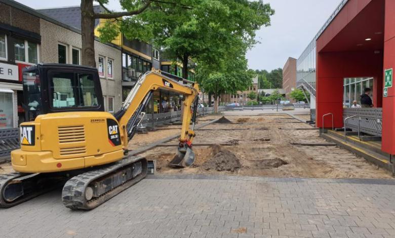 Bild von Umgestaltung der Marktpassage Neugraben beginnt