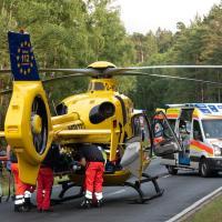Schwer verletzt aus dem Auto gerettet