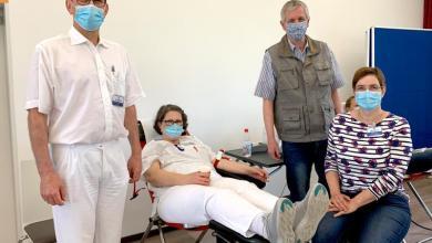 Photo of Knappes Gut in Corona-Zeiten: Mitarbeiter der Elbe Kliniken spenden Blut