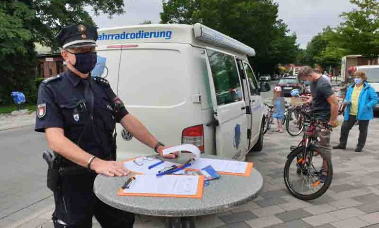 Bild von Polizei Neugraben lädt zur Fahrrad-Codierung