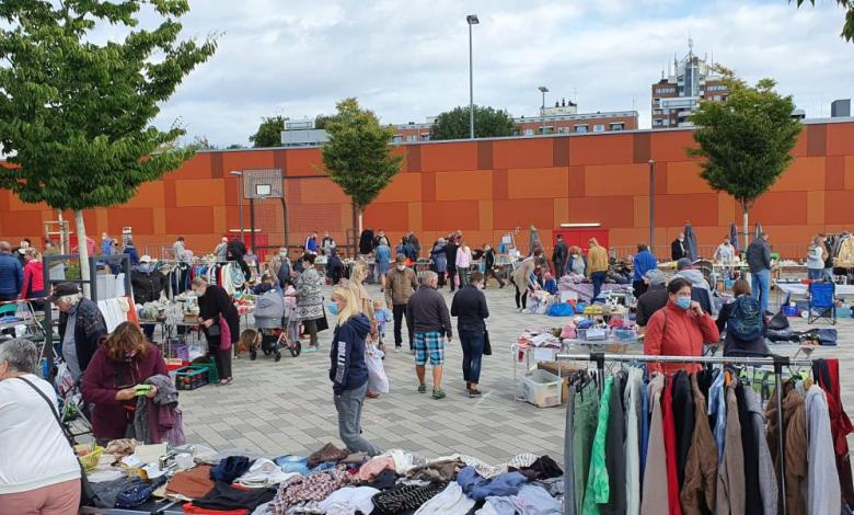 Bild von Erfolgreicher Flohmarkt erfreut Neugrabener