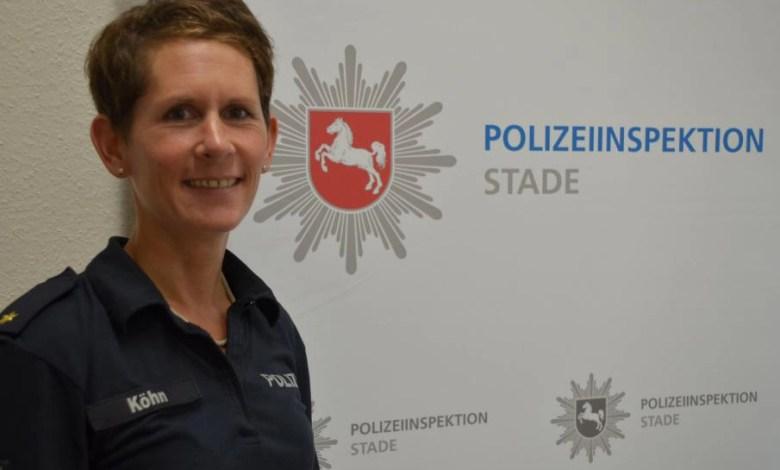 Bild von Polizei Stade: Wilfried Reinke und Julia Köhn übernehmen neue Aufgaben