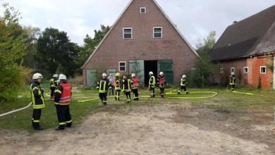 Bild von Kinder entzünden Feuer in leerstehenden landwirtschaftlichen Gebäude