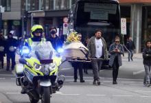 Bild von Querdenker-Demo in Hamburg mit wenig Zulauf