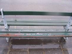 Schriftzug in Paris (JGE)
