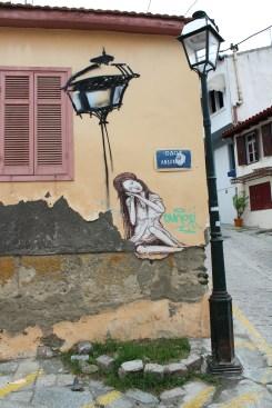 Mural in Thessaloniki (JGE)