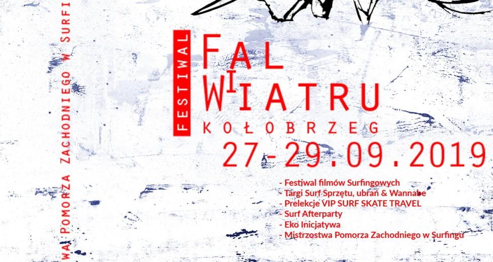Już w najbliższy weekend Kołobrzeg zaprasza na Festiwal Fal i Wiatru 2019.