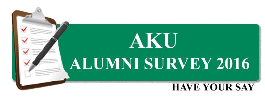 AKU Alumni Survey, 2016