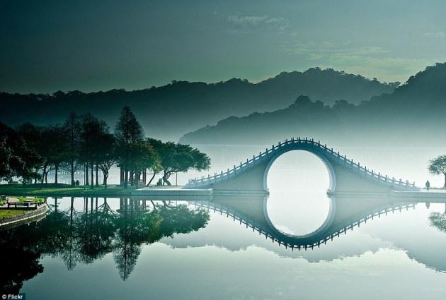 ay köprüsü büyük göl tayvan