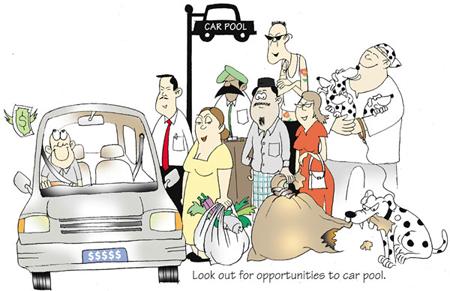 Carpooling Bersama