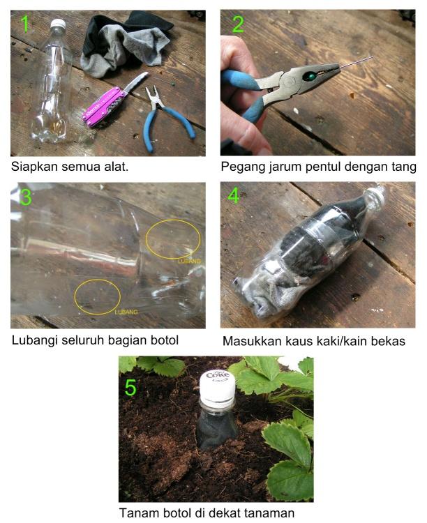 Manual Penyiram Otomatis