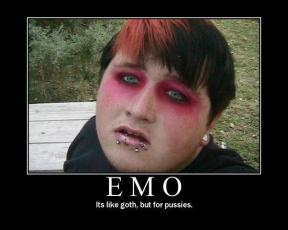 It's like Goth, but for pussies