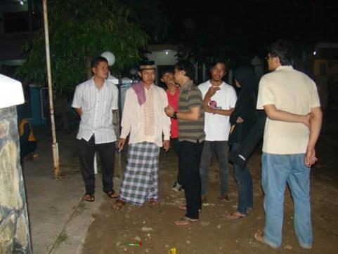 Ustad Agus bersama Komunitas Djuanda