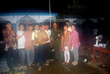 Komunitas Djuanda bersama perwakilan dari Veteran Ciputat