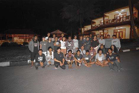 Foto bersama perwakilan partisipan akumassa dari beragam lokasi program