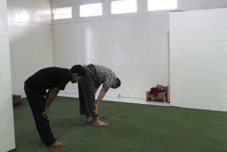 Ruangan Masjid At-Tujar
