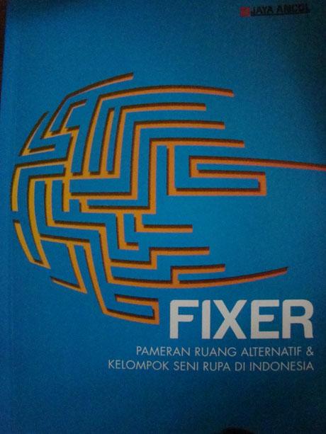 Sampul depan katalog FIXER