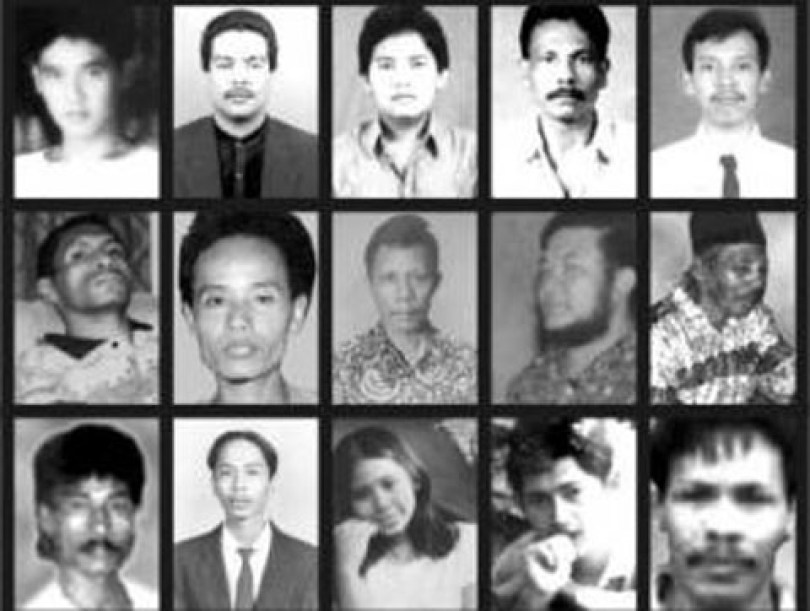 Beberapa orang hilang di masa pemerintahan Soeharto