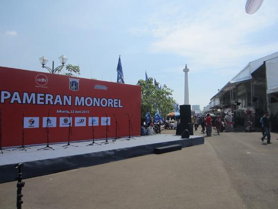 Pameran Monorel Jakarta