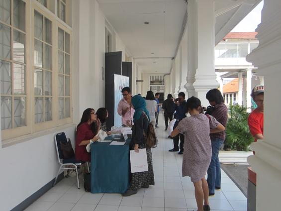 Acara konferensi Pers MUSLIHAT OK. Video -- The 6th Jakarta International Video Festival. Konferensi pers ini diadakan di Ruang Seminar Galeri Nasional Indonesia.