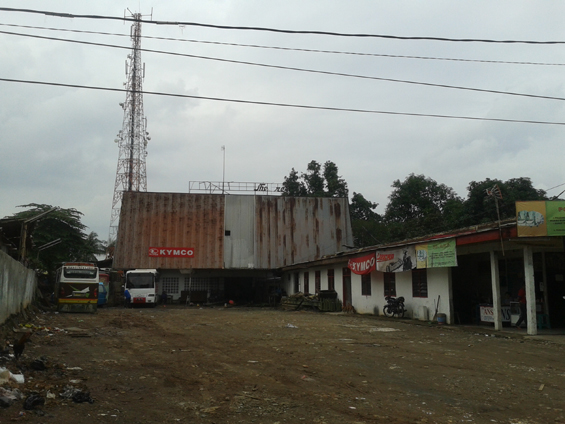 The former Glroia cinema located in the Great Market Depok.