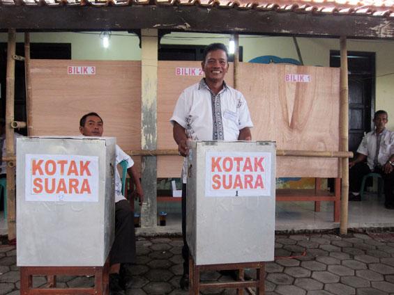 The ballot box.