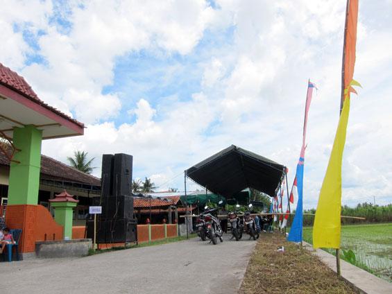 Dengkeng Village Hall.