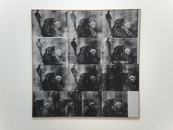 Bellevue II (1963) karya Andy Warhol.
