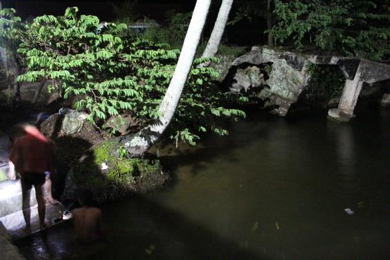 Penembak ikan beraksi lewat tengah malam