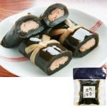 鮭の身を北海道産上級昆布で巻きました★越後村上の味 鮭巻昆布(紺袋)3個詰合