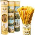 イタリアの名所が描かれた筒型パッケージ イタリア風景スパゲティ 6本