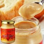 メープルシロップだけを使用し、加熱してバター状に煮詰め、クリーミーで濃厚な味に
