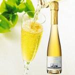希少なアイスワインの中でも特に珍しいスパークリングタイプ。