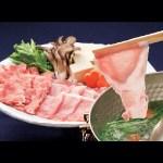 きめ細かくしっとりとした肉質は、豚肉本来のうまみが最大限に味わえるブランド豚