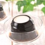北海道羊蹄山京極の里の天然湧水と良質のコーヒー豆を使用したゼリー。