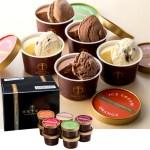 香り豊かなフルーツやナッツを加えた銀座千疋屋オリジナルのショコラアイス。