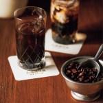牛乳をたっぷり入れて優しい甘みの濃厚なカフェオレを。アイスコーヒーセット