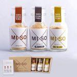 MISO カケルミソ3種セット プレーン、柚子、黒こしょうの3種類のセット。