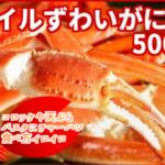 ボイルずわいがに爪 500g /ボイル冷凍  特別価格4,000円(税込)
