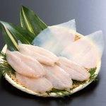 水産庁長官賞を受賞している和田珍味のふぐ一夜干と釣り物の白いか一夜干に