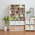 メーカー直営 家具・白木目 板厚3.6cmのボリューム 全棚可動 本棚 シェルフ