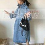 ワンピース無地韓国風女の子コージー上品子供服
