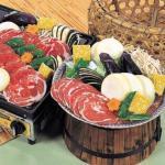 ダイエットに効果があると話題のL-カルニチンを豊富に含んだラム肉のジンギスカン