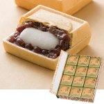 粒あん、ほどよいやわらかさのお餅、絶妙に調和した田子の月の看板商品