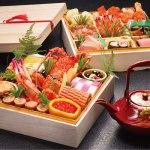 伊達家由来の正月料理5品入りイセ海老の共味噌焼き 税込35,000円