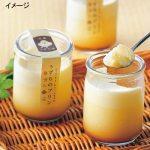 室蘭産のうずら卵と搾りたての生乳から生まれたプリンです。税込4,320円