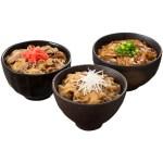 黒豚丼・和牛ミニ丼の具 和風丼-昆布のうまみと玉ねぎの甘味がきいた和風だし使用