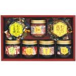 厳選した山海の幸を、小豆島特産の醤油を使用してじっくり炊き上げビン詰めに