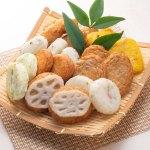 魚肉をブレンドし旨みを引き出し、ソフトな食感には豆腐と山芋、風味豊かな甘みに