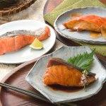 定番の煮魚・焼魚が合計10パック入った、ボリュームのある詰合せです。